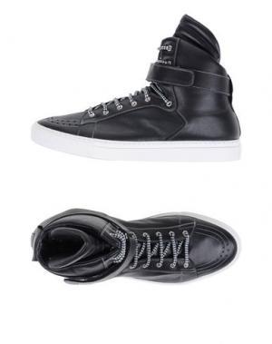 Высокие кеды и кроссовки GIULIANO FUJIWARA. Цвет: черный