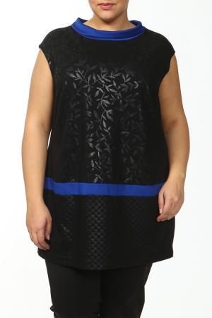 Туника Maxima. Цвет: черный, синий