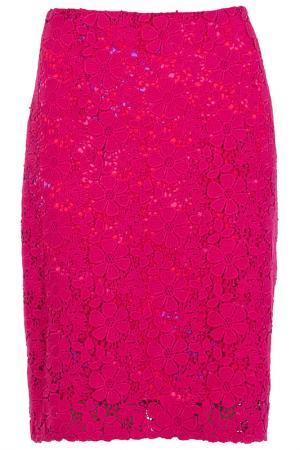 Юбка Elie Tahari. Цвет: розовый