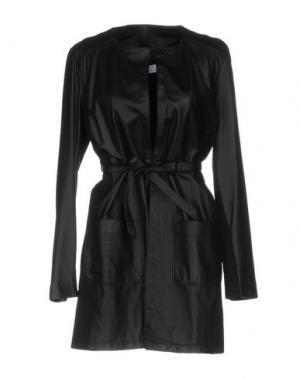 Легкое пальто KAOS. Цвет: черный