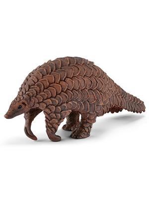 Серия Дикие животные - Гигантский ящер Панголин SCHLEICH. Цвет: коричневый