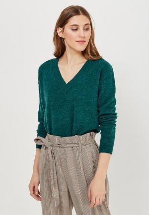 Пуловер Ichi. Цвет: зеленый