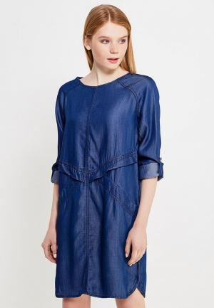 Платье Drywash. Цвет: синий