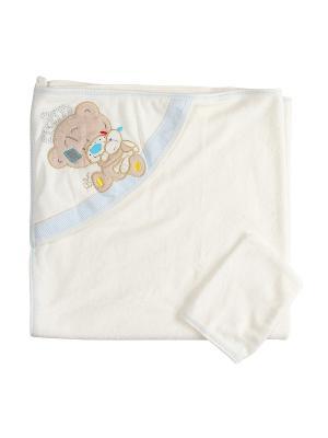 Комплект для купания малышей M-BABY. Цвет: молочный, бежевый