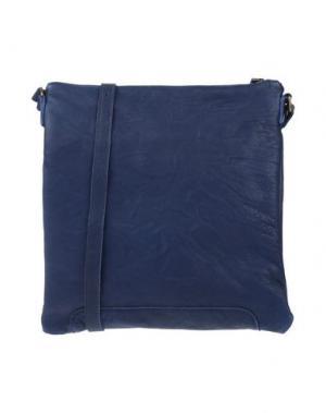 Сумка через плечо CORSIA. Цвет: темно-синий