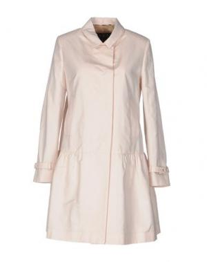 Легкое пальто DAKS LONDON. Цвет: светло-розовый