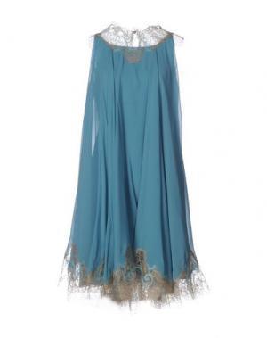 Платье до колена CAILAN'D. Цвет: цвет морской волны