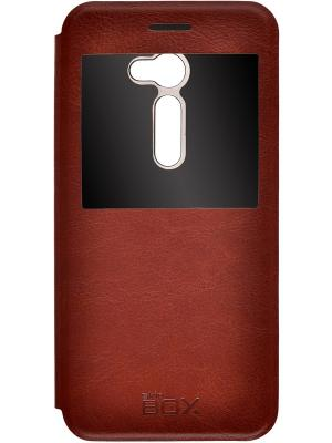 Кейс-книжка для Asus ZenFone 2 ZE500C 5 skinBOX. Цвет: коричневый