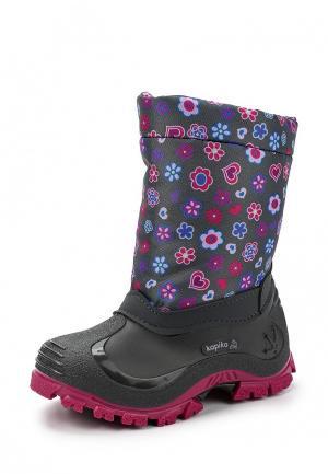 Ботинки Kapika. Цвет: серый