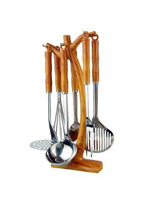 Кухонный набор Bekker. Цвет: светло-коричневый