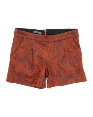 Повседневные шорты MISS GRANT. Цвет: ржаво-коричневый