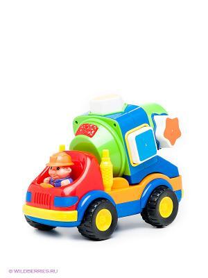 Развивающая игрушка Цементовоз-сортер Kiddieland. Цвет: синий