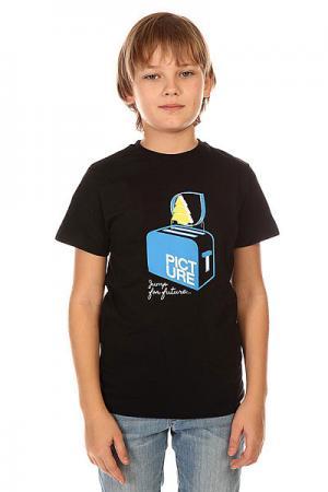 Футболка детская  Toaster Tee Black Picture Organic. Цвет: черный