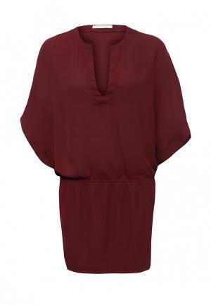 Платье NewLily. Цвет: бордовый