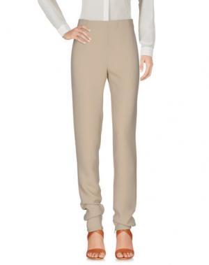 Повседневные брюки CHALAYAN. Цвет: песочный