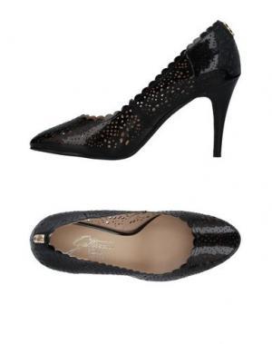 Туфли GATTINONI. Цвет: черный