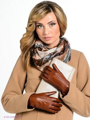 Перчатки Eleganzza. Цвет: светло-коричневый
