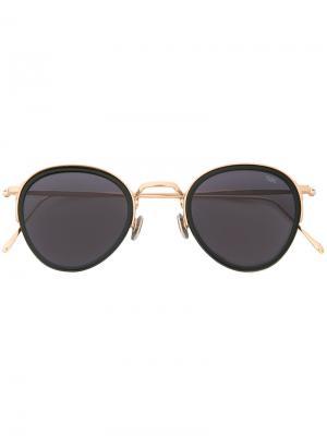 Солнцезащитные очки круглой формы Eyevan7285. Цвет: металлический