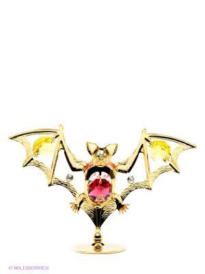 Фигурка Летучая мышь Юнион. Цвет: золотистый