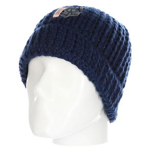Шапка  First Mate Beanie Navy Lib Tech. Цвет: синий