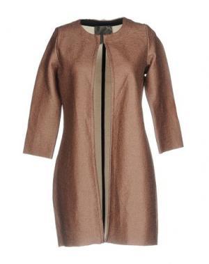 Легкое пальто ES'GIVIEN. Цвет: коричневый
