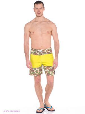 Бордшорты TTH TRUNK 18 BOARDSHORT Rip Curl. Цвет: желтый, бежевый, зеленый