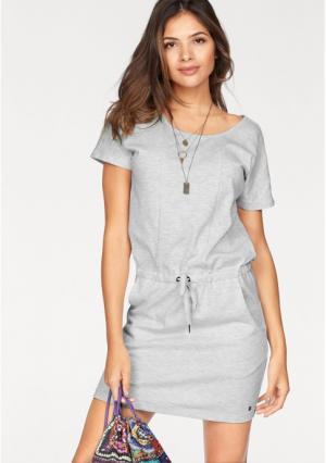 Платье AJC. Цвет: светло-серый/меланжевый
