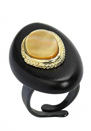 Кольцо Nature bijoux. Цвет: черный