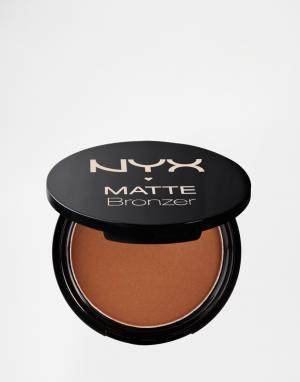 NYX Professional Makeup Матовый бронзатор для тела Make-Up. Цвет: рыжий