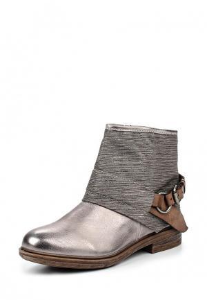Ботинки Weide. Цвет: серебряный