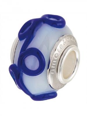 Ювелирный шарм Amore&Baci. Цвет: синий, белый, серебристый
