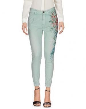 Повседневные брюки FOUDESIR. Цвет: светло-зеленый
