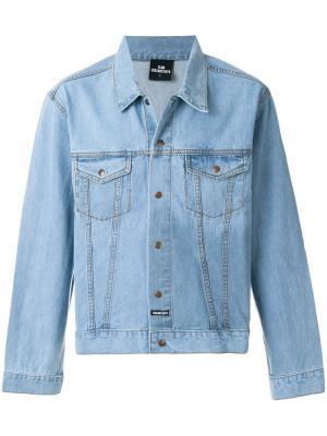 Джинсовая куртка Les (Art)Ists. Цвет: синий