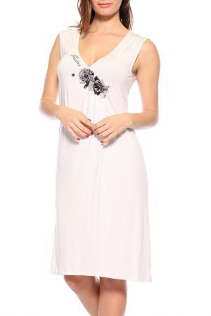 Платье GUITAR. Цвет: белый