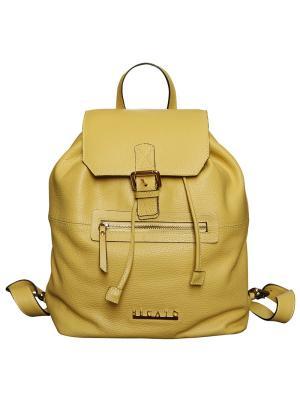 Рюкзак Becato. Цвет: желтый