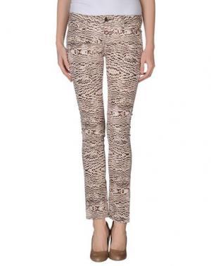 Повседневные брюки VIRGINIE CASTAWAY. Цвет: бежевый