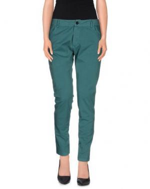 Повседневные брюки GUARDAROBA by ANIYE. Цвет: зеленый