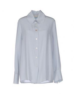 Pубашка TROU AUX BICHES. Цвет: светло-серый
