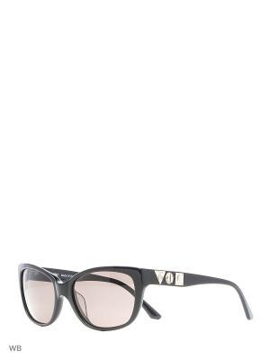 Солнцезащитные очки MI 746 01 Missoni. Цвет: черный