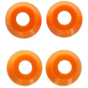 Амортизаторы для скейтборда  Low Conical Cushions Medium Orange 90a Independent. Цвет: оранжевый