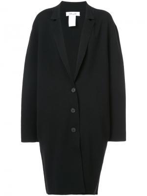 Пальто-кокон Diane Von Furstenberg. Цвет: чёрный