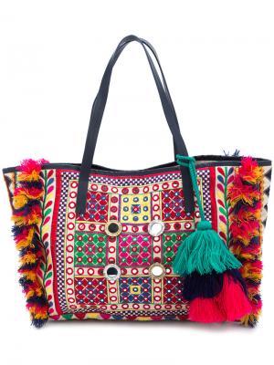 Дорожная сумка Fara Figue. Цвет: белый