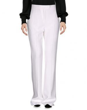Повседневные брюки EDUN. Цвет: белый