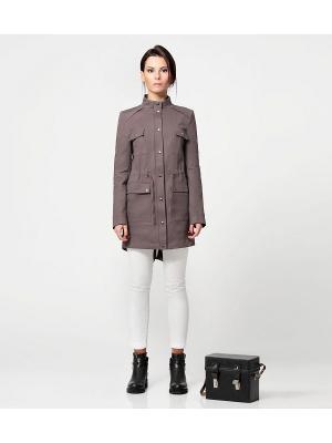 Куртка PRIO. Цвет: серый