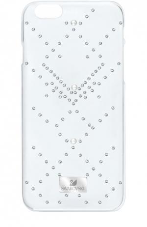 Чехол Edify для iPhone 6/6S Swarovski. Цвет: прозрачный