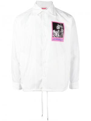 Куртка-рубашка Brigitte Bardot Joyrich. Цвет: белый