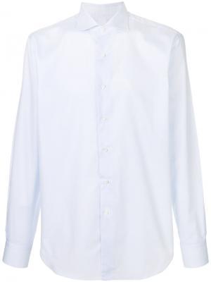 Рубашка со срезанным воротником Alessandro Gherardi. Цвет: none