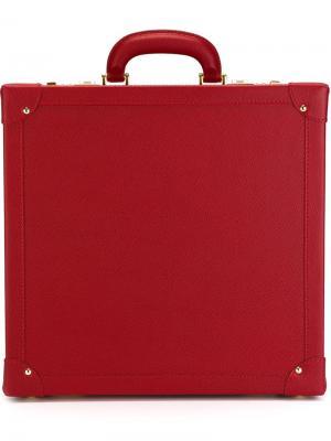 Кожаный кейс для солнцезащитных очков Family Affair. Цвет: красный