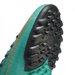 Футбольные бутсы для игры на газоне дошкольников/школьников  Jr. MercurialX Superfly VI Academy CR7 Nike. Цвет: зеленый