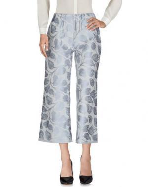 Повседневные брюки DANIELA PANCHERI. Цвет: небесно-голубой